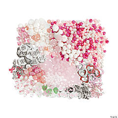 Breast Cancer Awareness Bead & Charm Assortment