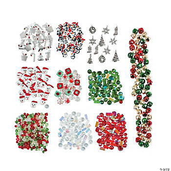 Mega Christmas Bead & Charm Assortment
