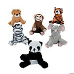 Mini Bean Bag Zoo Animals