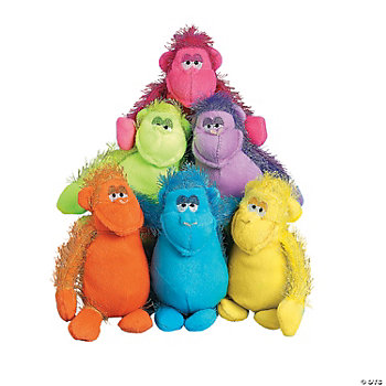 Plush Bright Gorillas