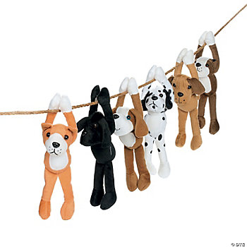 Plush Long Arm Dogs