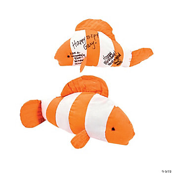 Autograph Clown Fish