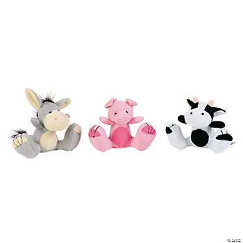 Plush Big Feet Animals