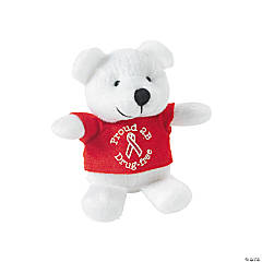 Plush Red Ribbon Bears