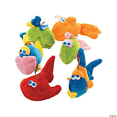 Plush Fish Assortment