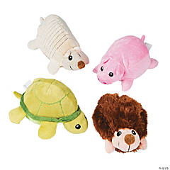 Plush Round Animals