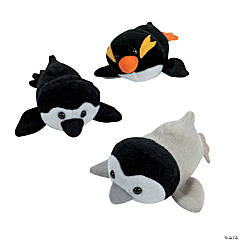 Mini Stuffed Penguin Bags