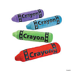 Plush Crayon Assortment