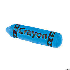 Plush Blue Crayon
