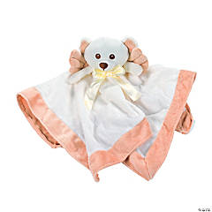 Plush Angel Bear Baby Blanket