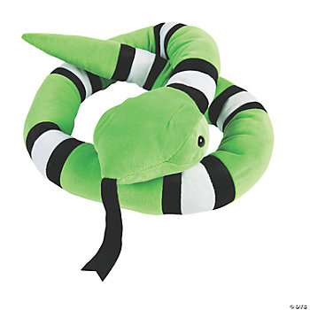 Multi-Striped Green Snake