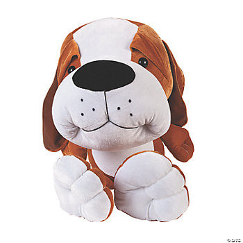 Plush Big Head Beagle Puppy