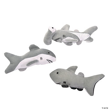 Plush Realistic Shark Assortment