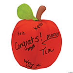 Plush Autograph Apple