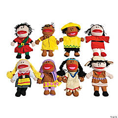Around the World Hand Puppets