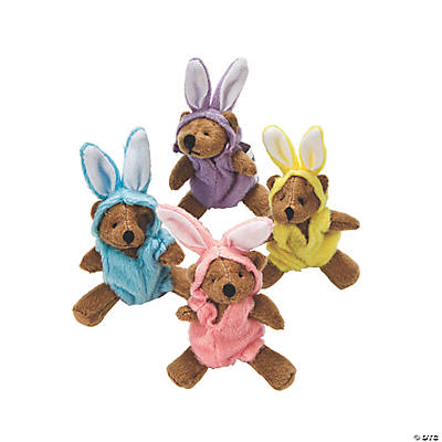 Plush Mini Bunny Bears