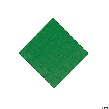 Green Beverage Napkins