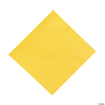 Yellow Luncheon Napkins