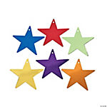 Assorted Colored Cardboard Stars. 5