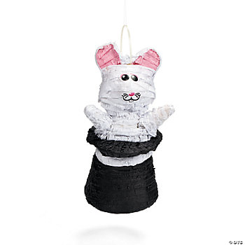 Black Top Hat With Rabbit Piñata