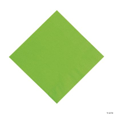 Lime Luncheon Napkins