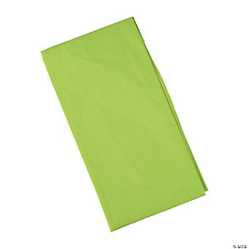 Fresh Lime-Colored Table Cover