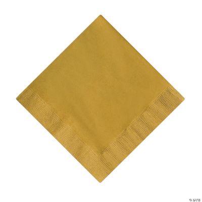 Metallic Gold Luncheon Napkins