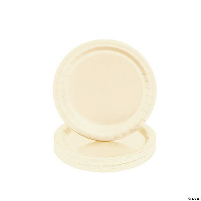 Ivory Party Dessert Plates