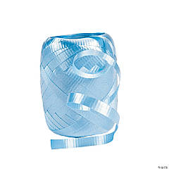 Blue Keg of Curling Ribbon®