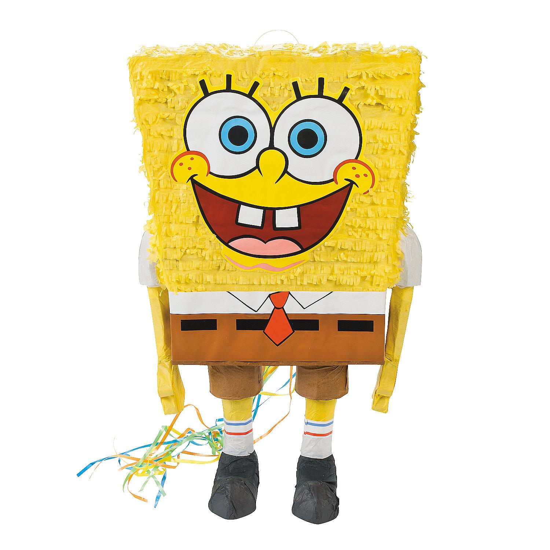 Spongebob squarepants pull string pi ata pinatas party for Decoration pinata