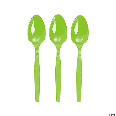 Lime Green Spoons