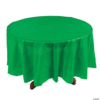 Green Round Table Cover