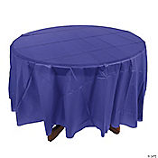 Purple Round Table Cover