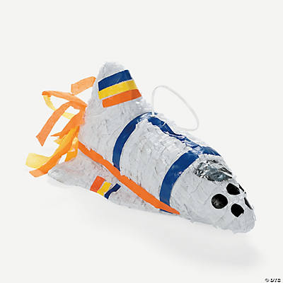 Rocket Ship Piñata