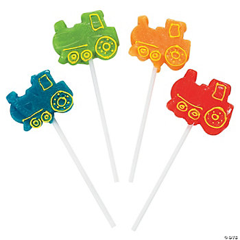 12 Train-Shaped Suckers