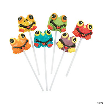 12 Frog-Shaped Suckers