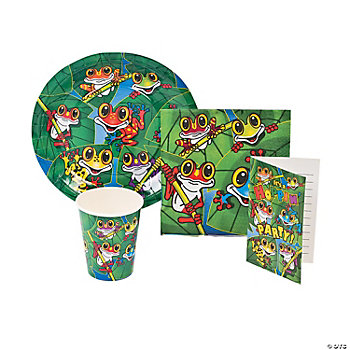 Frogs Tableware & Invitations