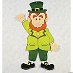 Jointed Leprechaun Decoration