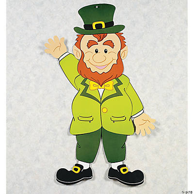St. Patrick's Day Jointed Leprechaun Decoration