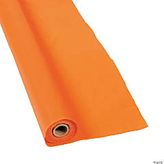Orange Tablecloth Roll