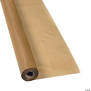 Gold Tablecloth Roll
