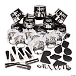 New Year Black & White Party Pack For 25