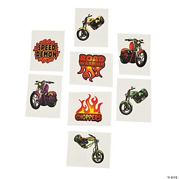 72 Chopper Bike Tattoos
