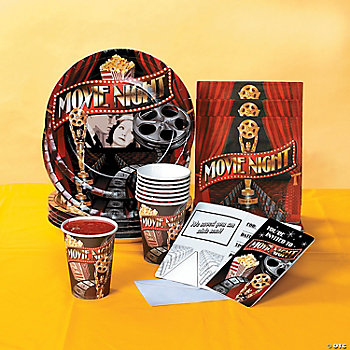 Movie Night Tableware Set