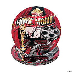 """Movie Night"" Dinner Plates"