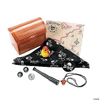 Treasure Chest Pre Filled Favor Box