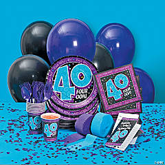 Look Who's 40! Basic Party Pack