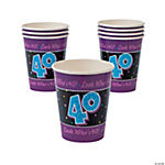 Look Who's 40! Cups