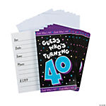 Look Who's 40! Invitations