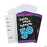 Look Who's 50! Invitations